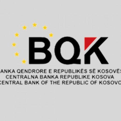 BQK publikoi statistikat e reja për normat e interesit të aplikuara për kredi dhe depozitë