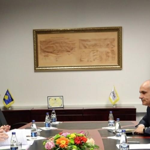Guvernatori Hamza priti delegacionin e lartë të Bankës Botërore