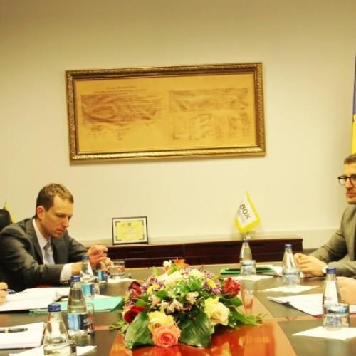 Guvernatori Hamza u takua me delegacionin e lartë të Misionit të FMN-së për Kosovë të kryesuar nga z. Jacques Miniane