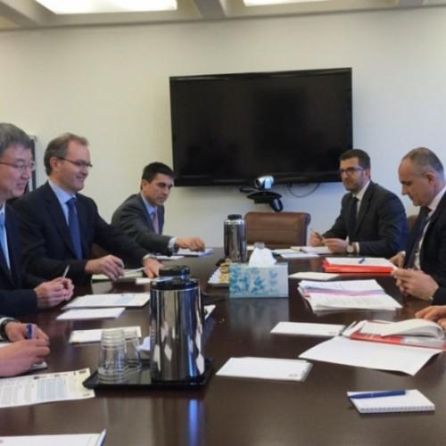 Zëvendësguvernatori i BQK-së  Lulzim Ismajli  po merr pjesë në takimet pranverore të Fondit Monetar Ndërkombëtar dhe të Bankës Botërore