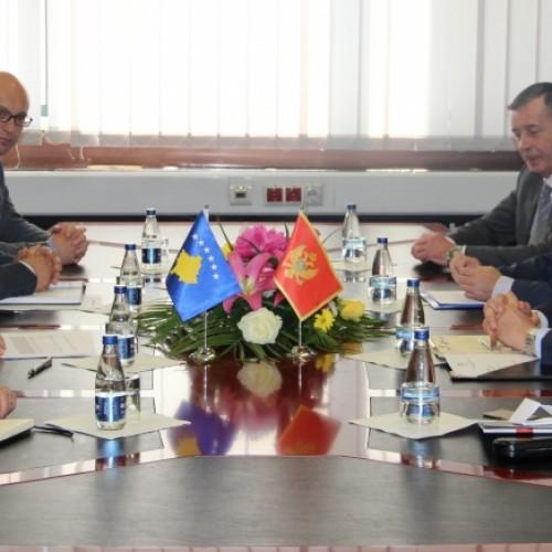 Guvernatori i Bankës Qendrore të Malit të Zi  vizitoi Bankën Qendrore të Republikës së Kosovës