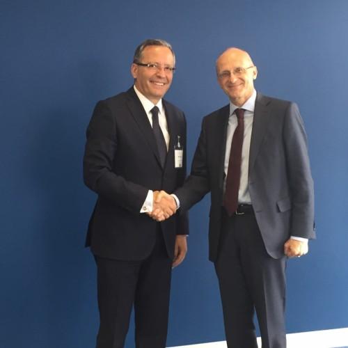 Guvernatori Hamza takohet me kreun e Autoritetit Bankar Evropian