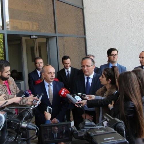 Kryeministri i Republikës së Kosovës, Isa Mustafa, vizitoi Bankën Qendrore të Republikës së Kosovës