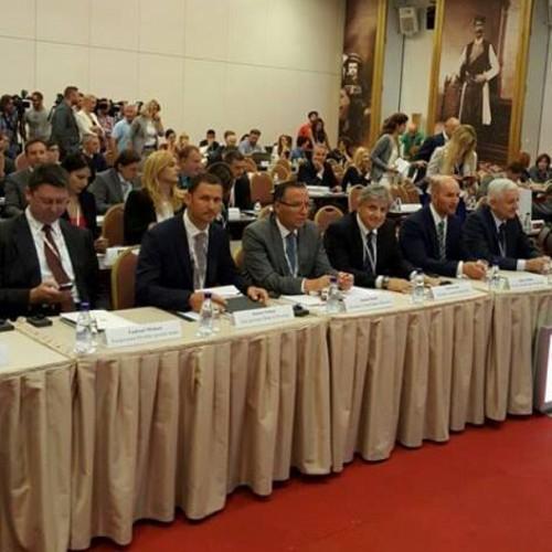 """Guvernatori Hamza merr pjesë në samitin """"Stabiliteti Financiar Rajonal në rrethana të ndryshueshme globale"""", që po mbahet në Beçiq të Malit të Zi"""