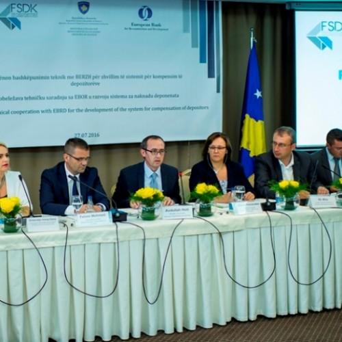 FSDK shënon fillimin e bashkëpunimit teknik me BERZH për zhvillim të sistemit për kompensim të depozitorëve