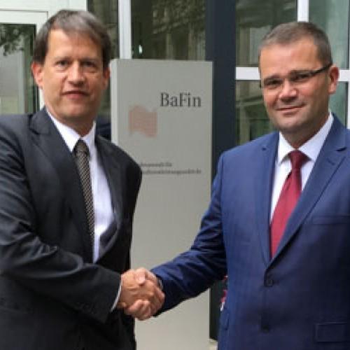 Vizitë e nivelit të lartë tek Rregullatorët kryesorë të Bankingut në Evropë
