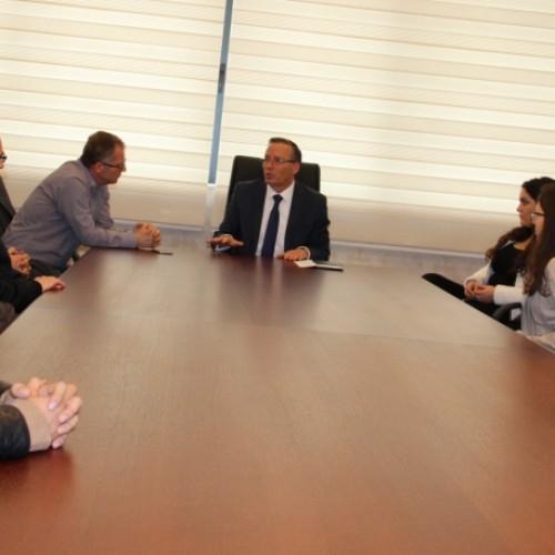 Studentët e Universitetit Amerikan në Kosovë vizituan Bankën Qendrore të Kosovës