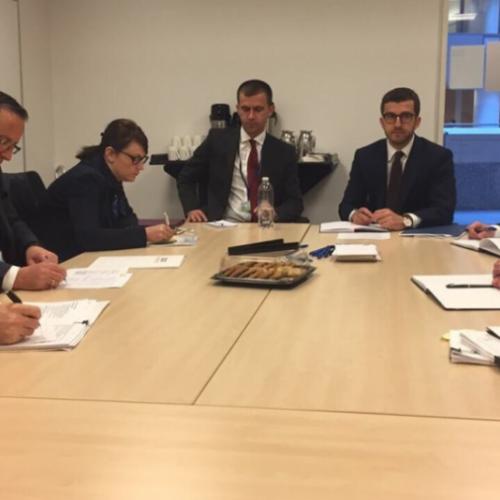 Guvernatori i Bankës Qendrore të Republikës së Kosovës po merr pjesë në takimet vjetore të FMN-së dhe Bankës Botërore
