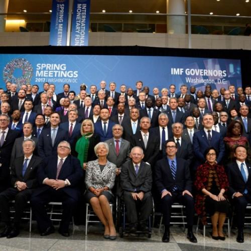 Guvernatori Hamza dhe delegacioni pjesëmarrës nga Kosova përfunduan takimet e Sesionit Pranveror të FMN-së dhe Bankës Botërore në Washington D.C