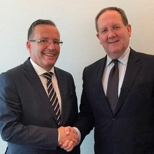 Guvernatori Hamza viziton institucionet financiare në Gjermani