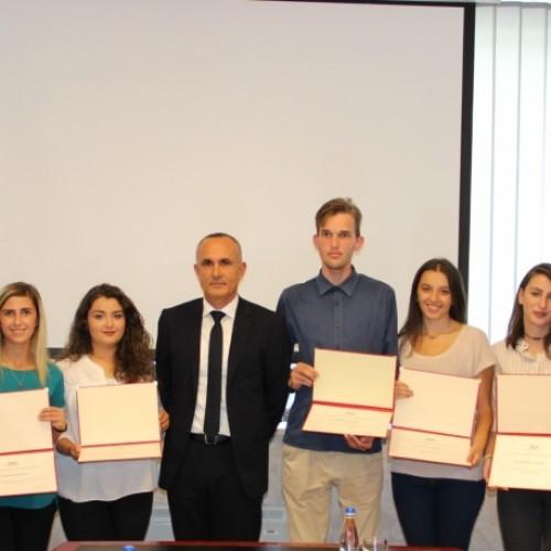 Përfundon programi me studentë për praktikë profesionale në BQK për vitin 2017