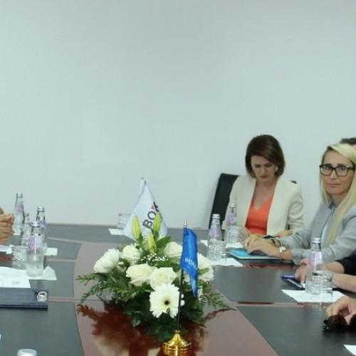 Guvernatori Hamza priti drejtoreshën e Bankës Botërore për Ballkanin Perëndimor znj.Gelder