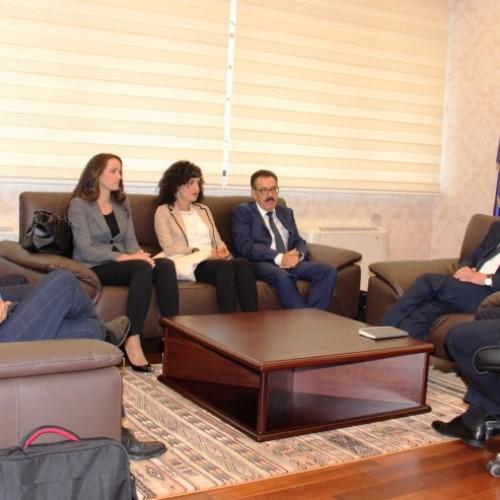 Vizita e delegacionit të lartë nga Banka Popullore e Republikës së Maqedonisë