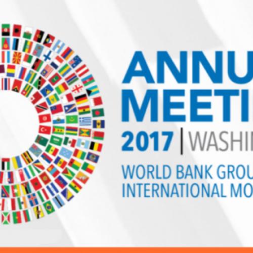 U.D. i Guvernatorit të Bankës Qendrore të Kosovës z. Fehmi Mehmeti po merr pjesë në takimet e rregullta vjetore të Fondit Monetar Ndërkombëtar dhe të Bankës Botërore