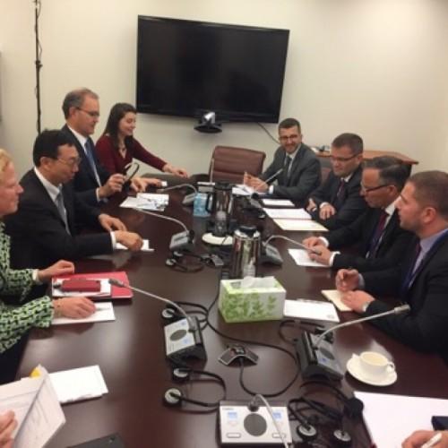 U.D i Guvernatorit zhvillon takime vjetore me FMN dhe Bankë Botërore