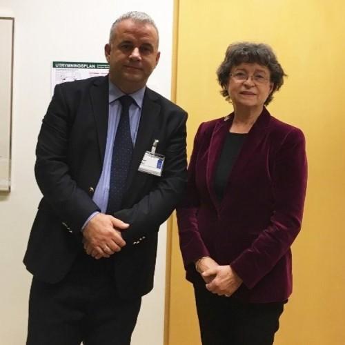 Një delegacion i BQK-së i kryesuar nga Kryetari i Bordit të BQK-së z. Bedri Peci po zhvillojnë një vizitë zyrtare në Bankën Qendrore të Suedisë