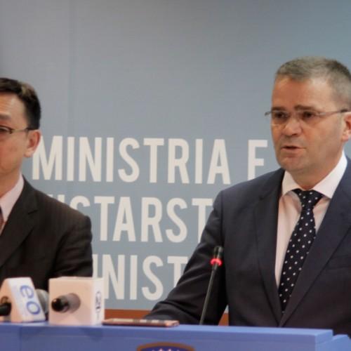 U.D i Guvernatorit të BQK-së z.Fehmi Mehmeti takon zëvendësdrejtorin menaxhues të FMN-së Tao Zhang