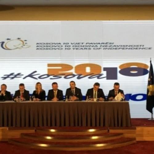 """U.d Guvernatori Mehmeti mori pjesë në forumin ekonomik """"10 Vjetori i Pavarësisë Ekonomike të Kosovës"""""""