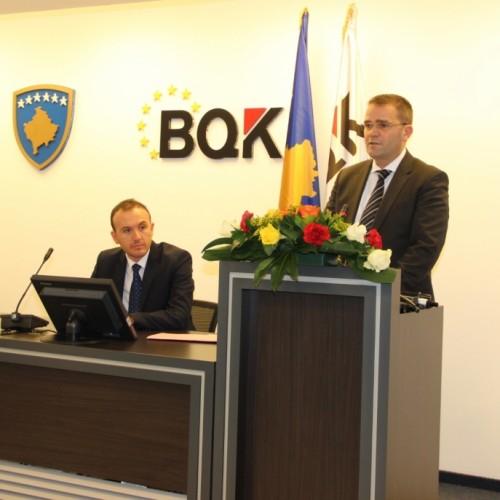Banka Qendrore e Kosovës ka mbajtur konferencë me media për Javën Ndërkombëtare të Parasë
