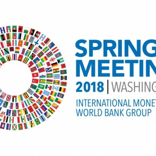 Guvernatori i Bankës Qendrore të Republikës së Kosovës z.Fehmi Mehmeti merr pjesë në takimet pranverore të FMN-së dhe të Bankës Botërore