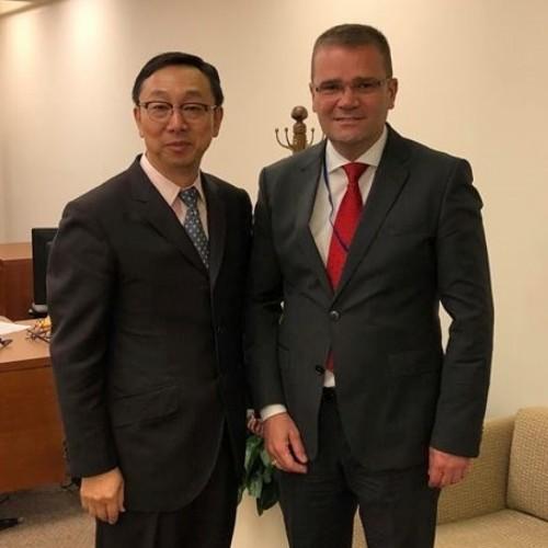 Guvernatori z.Fehmi Mehmeti takohet me Zëvendësdrejtorin e FMN-së z.Tao Zhang