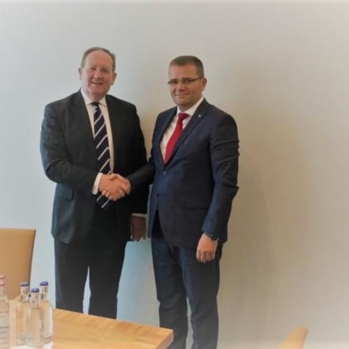 Guvernatori Mehmeti merr mbështetje nga Presidenti i BaFin, Dr. Felix Hufeld