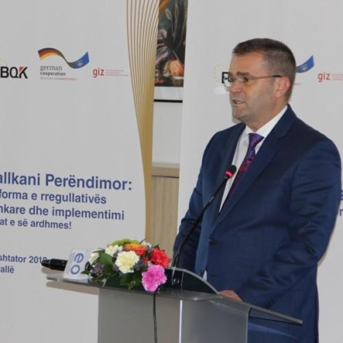 Mehmeti: BQK-ja, po përmbush standardet më të mira ndërkombëtare të rregullativës financiare