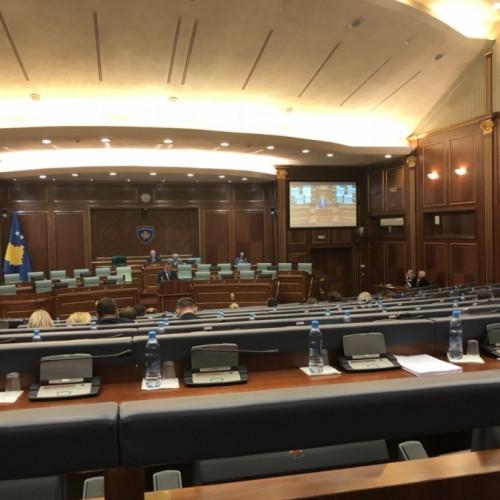 Deputetët e Kuvendit të Kosovës i japin mbështetje punës së BQK-së