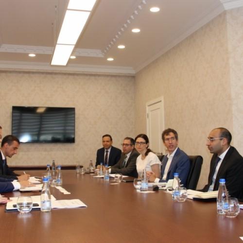 Guvernatori Mehmeti takon Misionin e FSAP të Bankës Botërore