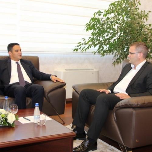 Guvernatori Mehmeti  takoi sot  Sami Istrefin, Avokatin e Përgjithshëm të  Shtetit