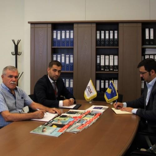 Zëvendësguvernatori Havolli priti në takim përfaqësuesit e Autoritetit Kosovar të Konkurrencës
