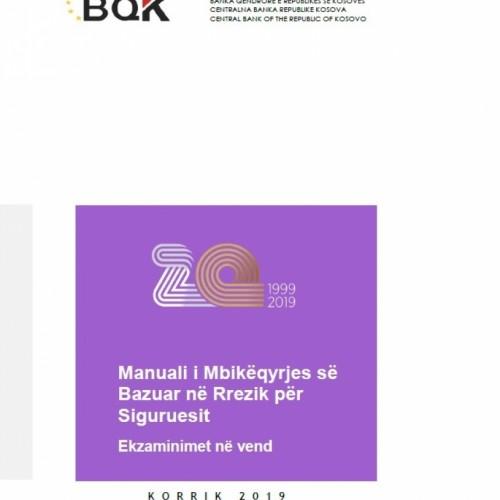 Miratohet Manuali i Mbikëqyrjes së Bazuar në Rrezik për Siguruesit