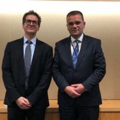 Guvernatori Mehmeti takoi zyrtarë të Thesarit Amerikan dhe ekipin e Misionit të FMN-së për Kosovë