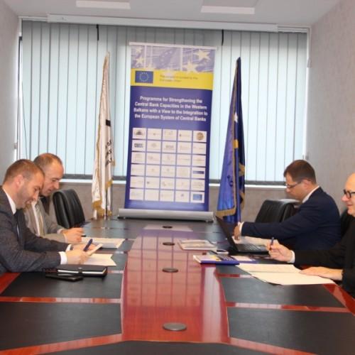 BQK zhvillon bashkëpunimin me bankat qendrore të vendeve të BE-së në fushën e parandalimit të pastrimit të parave