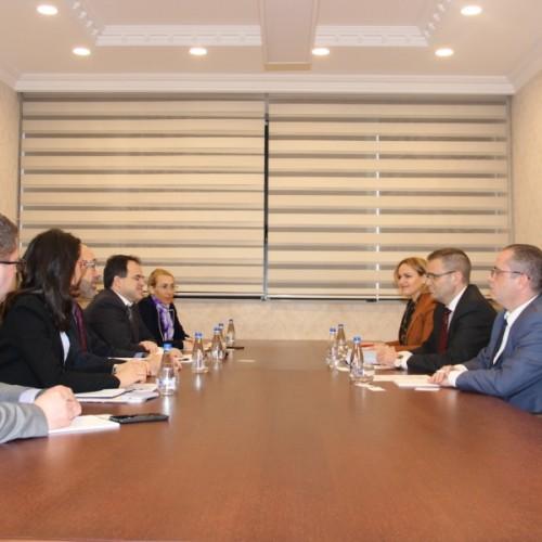 Guvernatori Mehmeti takoi Drejtorin e Bankës Botërore për Kosovë e Maqedoni të Veriut-Marco Mantovanellin