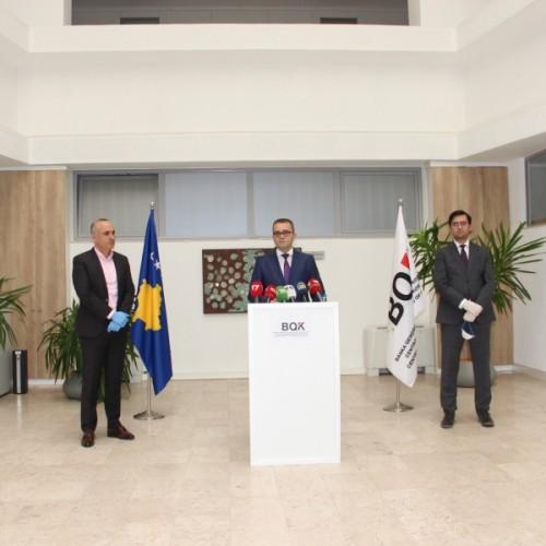 Guvernatori Mehmeti prezantoi masat e BQK-së për tejkalimin me më pak dëme në ekonomi nga pandemia Covid 19