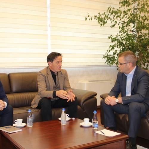 Guvernatori i BQK-së, z. Fehmi Mehmeti u takua me Avokatin e Popullit, z.Hilmi Jashari