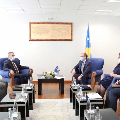 Guvernatori Mehmeti shpreh gatishmërinë e BQK-së për të ndihmuar rimëkëmbjen ekonomike